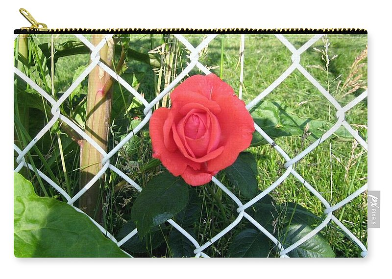 Adorable Beauty Carry-all Pouch featuring the photograph Princesse Rose by Sonali Gangane
