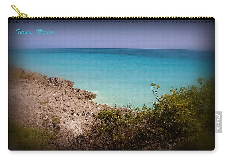 Mexico Carry-all Pouch featuring the photograph Pristine by Priscilla Richardson