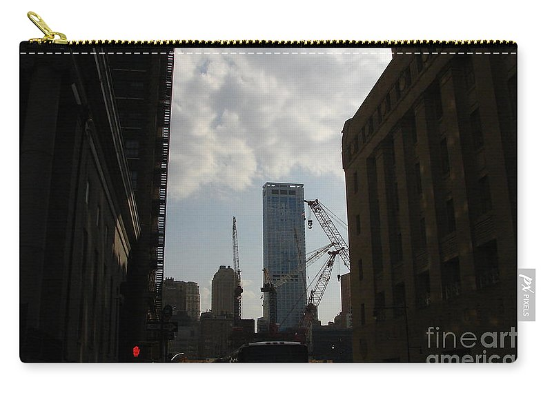 Ground Zero Carry-all Pouch featuring the photograph Protection by Priscilla Richardson