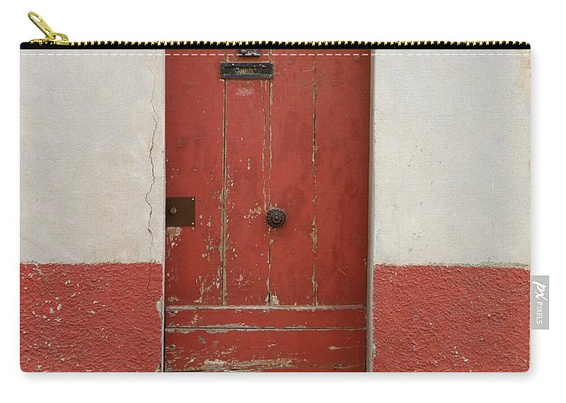 Door Carry-all Pouch featuring the photograph Provence Door 13 by Lainie Wrightson