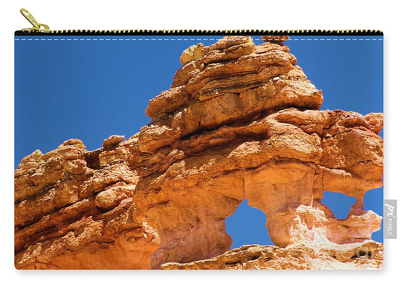 Bryce Canyon National Park Carry-all Pouch featuring the photograph Puff The Canyon Dragon by Adam Jewell