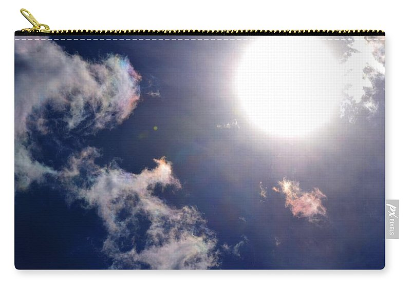 Sun Carry-all Pouch featuring the photograph Pure Sunlight by Maria Urso