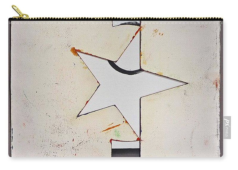 Decal Carry-all Pouch featuring the painting Pure Theatre by Charles Stuart