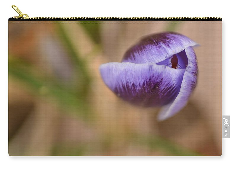 J.d. Grimes Carry-all Pouch featuring the photograph Purple Beauty by JD Grimes