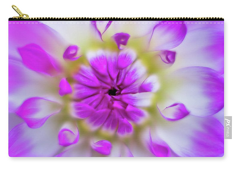 Flower Carry-all Pouch featuring the photograph Purple Splendor by Greg Nyquist
