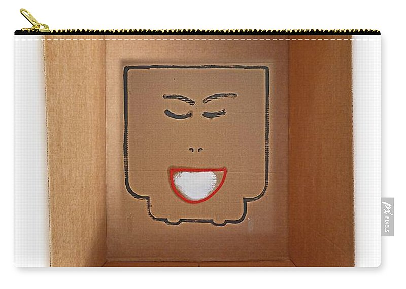 Queen Carry-all Pouch featuring the painting Queen by Charles Stuart