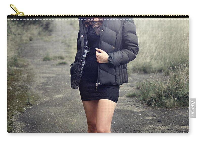 Yhun Suarez Carry-all Pouch featuring the photograph Rachel9 by Yhun Suarez