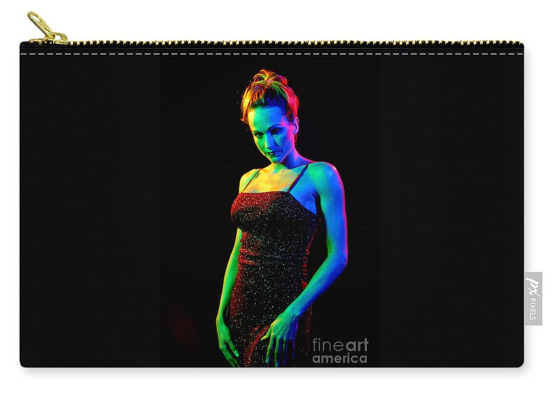 Model Carry-all Pouch featuring the photograph Rainbow 3-2 by Gary Gingrich Galleries