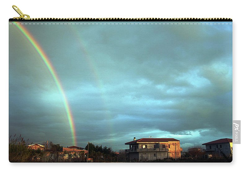 Italy Carry-all Pouch featuring the photograph Rainbow Calabrese by La Dolce Vita