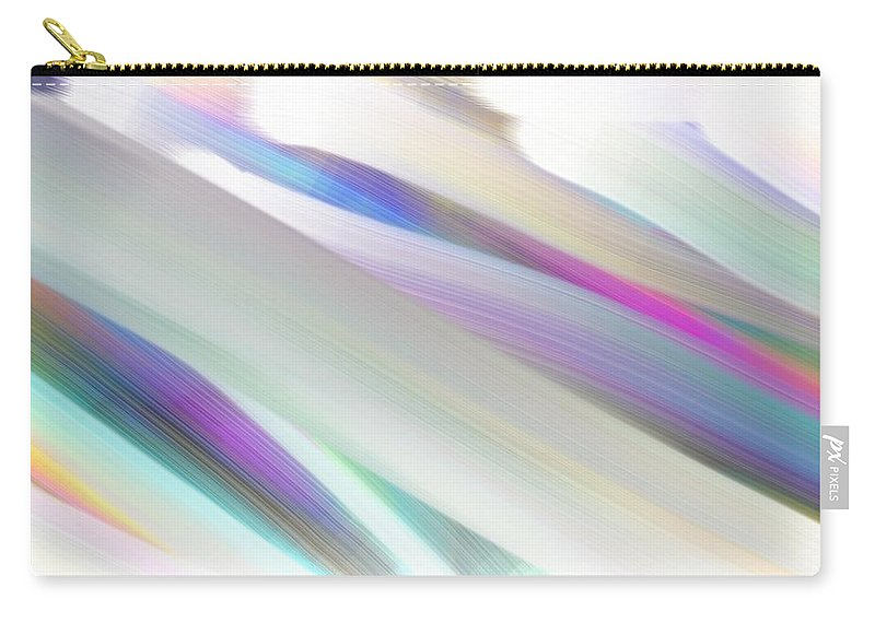 Rainbow Carry-all Pouch featuring the painting Rainbow by George Pedro