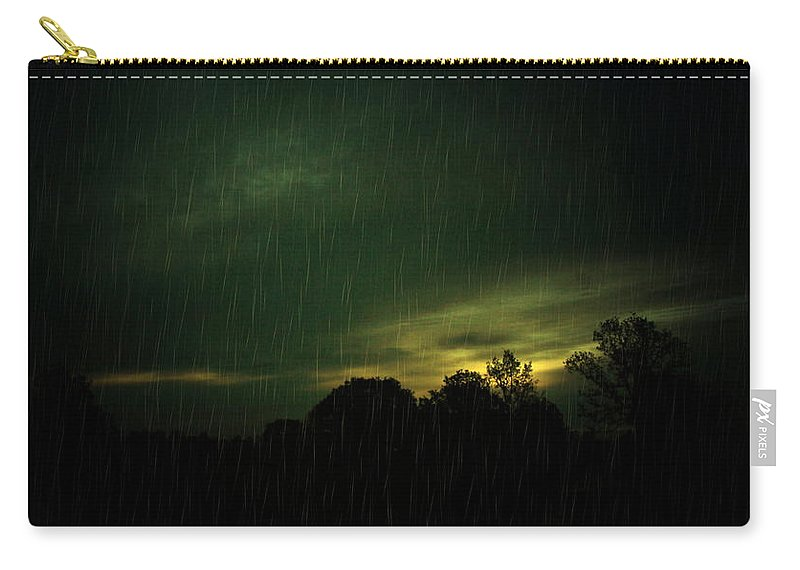 Rain Carry-all Pouch featuring the photograph Rainy Daze by Joyce Dickens