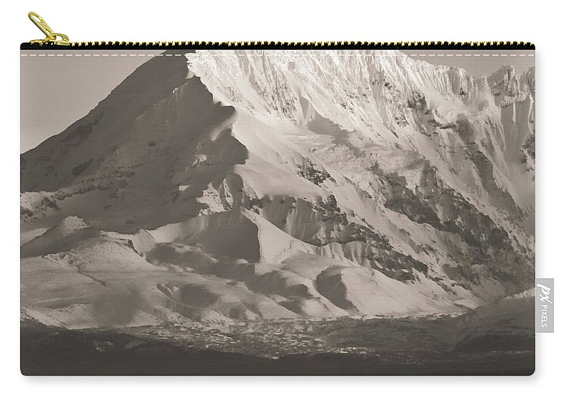 Alaska Carry-all Pouch featuring the photograph Rangell-st.elias Range by Roger Wedegis