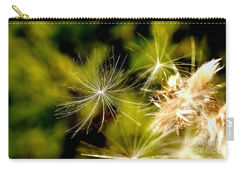 Thistle Carry-all Pouch featuring the photograph Ready For Lift Off by John Chatterley