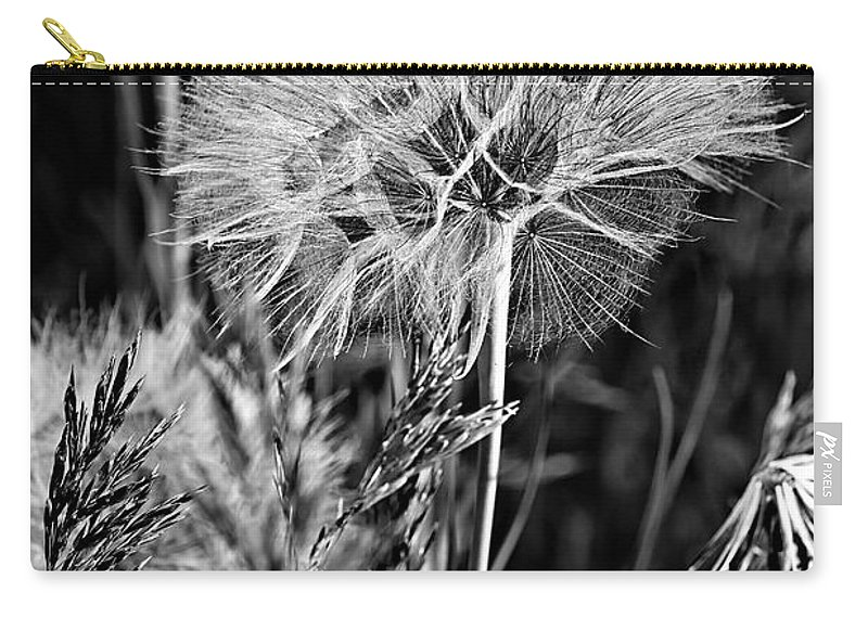 Flower Carry-all Pouch featuring the photograph Ready To Fly by Phyllis Denton
