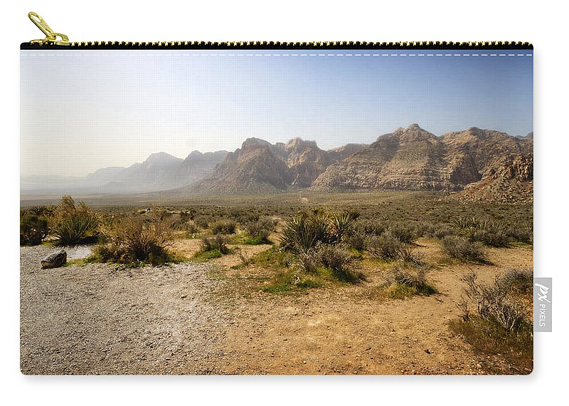 Red Rock Canyon Carry-all Pouch featuring the photograph Red Rock Canyon 3 by Jessica Velasco