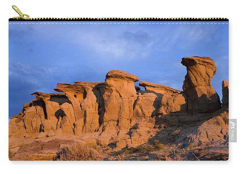 Red Rocks Carry-all Pouch featuring the photograph Red Rock Sunset by Rich Franco