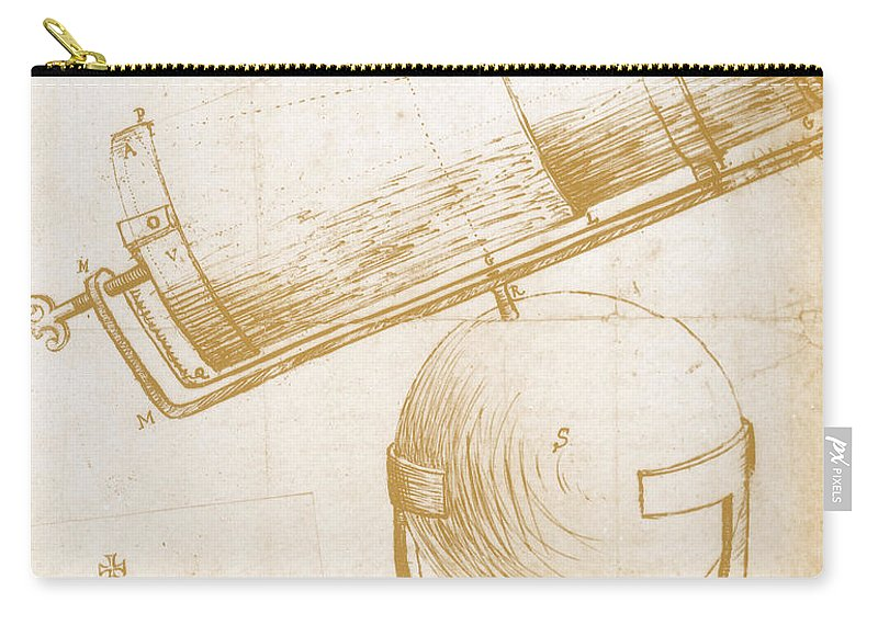 Astronomy Carry-all Pouch featuring the photograph Reflecting Telescope by Science Source
