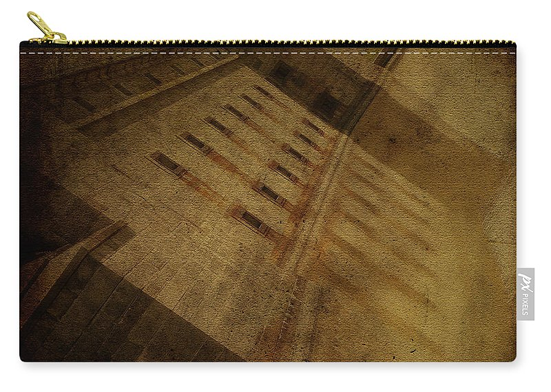 Fort Delaware Carry-all Pouch featuring the photograph Reflection At Fort Delaware by Trish Tritz