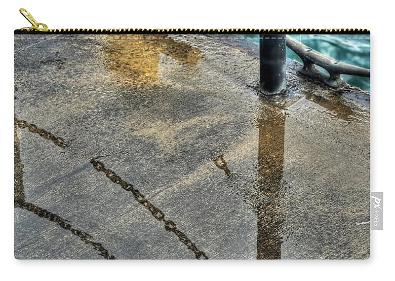 Carry-all Pouch featuring the photograph Reflections After The Rain by Michael Frank Jr