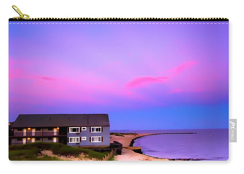 Cape Cod Carry-all Pouch featuring the photograph Relaxing Peaceful Ocean Air by Randall Branham