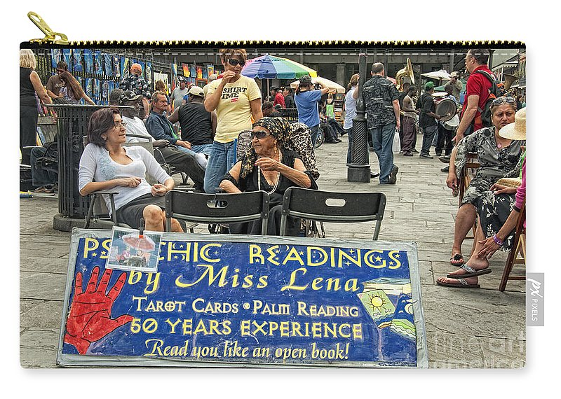 Photography Carry-all Pouch featuring the photograph Remembering Miss Lena by Kathleen K Parker