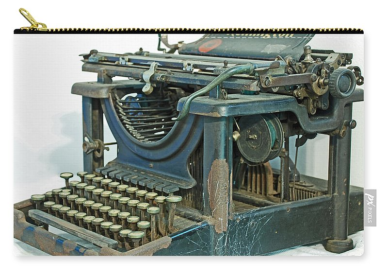 Typewriter Carry-all Pouch featuring the photograph Remington 11 by Kay Lovingood