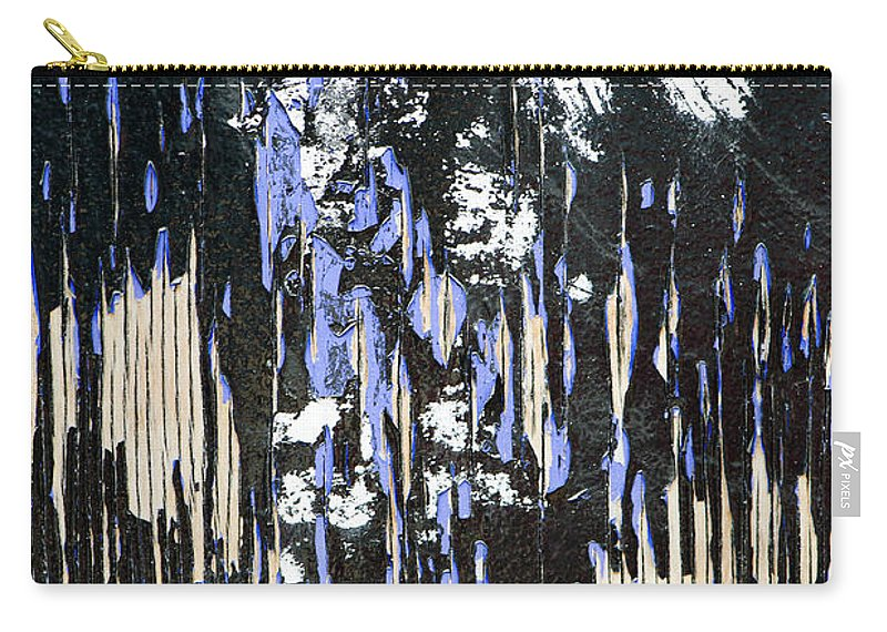 Abstract Carry-all Pouch featuring the photograph Residual Feeling by Gary Eason
