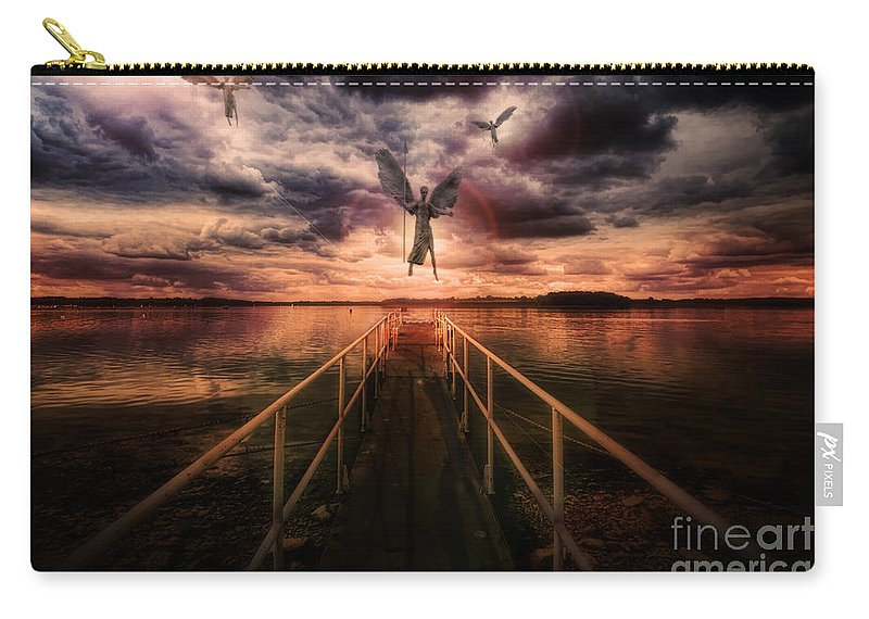 Yhun Suarez Carry-all Pouch featuring the photograph Revelation by Yhun Suarez