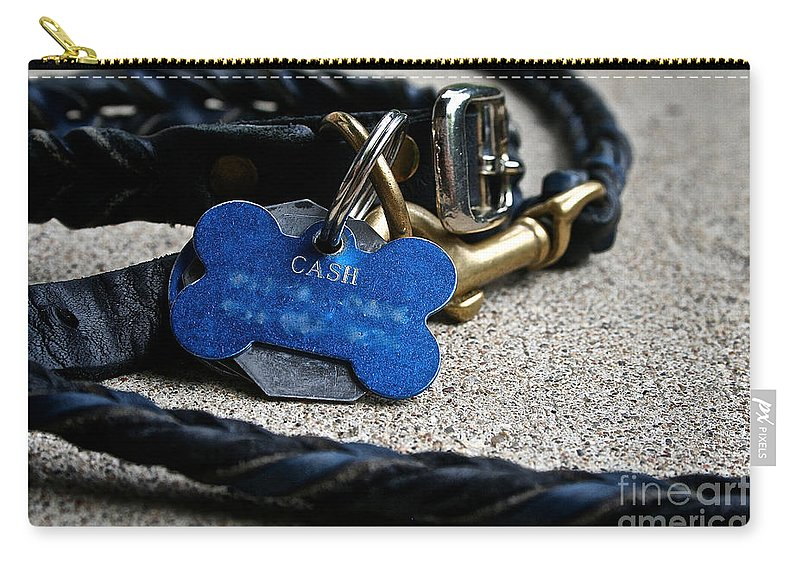 Dog Carry-all Pouch featuring the photograph Rewards by Susan Herber