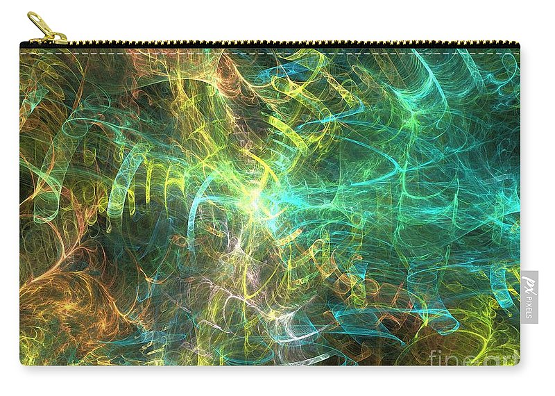 Apophysis Carry-all Pouch featuring the digital art Rigel by Kim Sy Ok