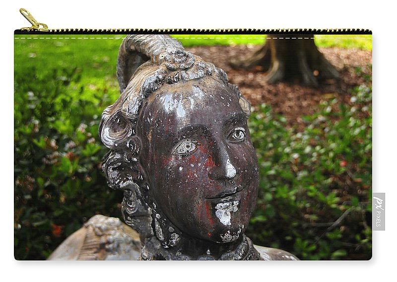 Fine Art Photography Carry-all Pouch featuring the photograph Ringling Art by David Lee Thompson