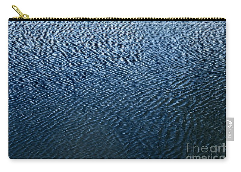 Abstract Carry-all Pouch featuring the photograph Ripples by Susan Herber