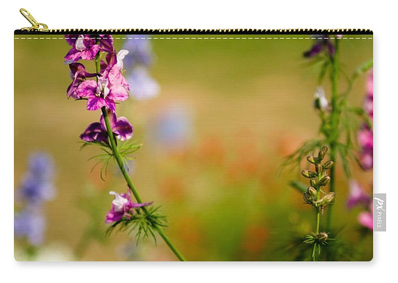 Flower Carry-all Pouch featuring the photograph Rising High by Syed Aqueel