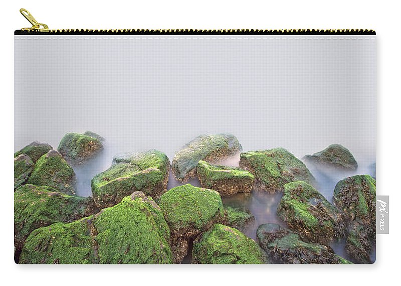 Staten Island Carry-all Pouch featuring the photograph Rock Bottom by Evelina Kremsdorf
