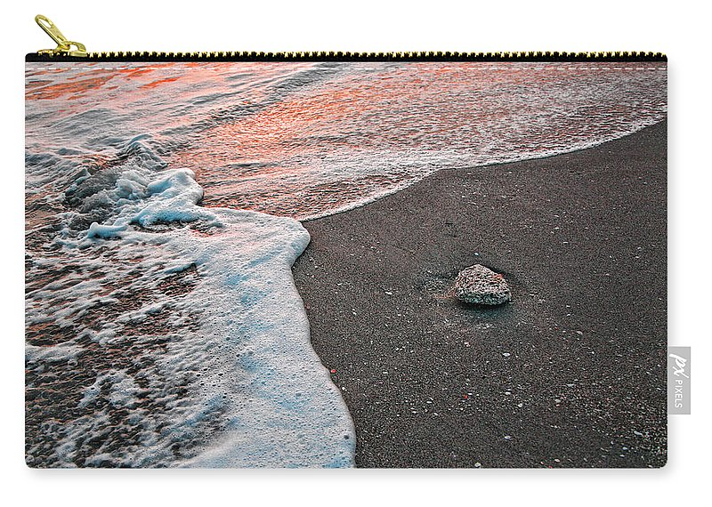 Beach Carry-all Pouch featuring the photograph Rock My Beach by Shari Jardina
