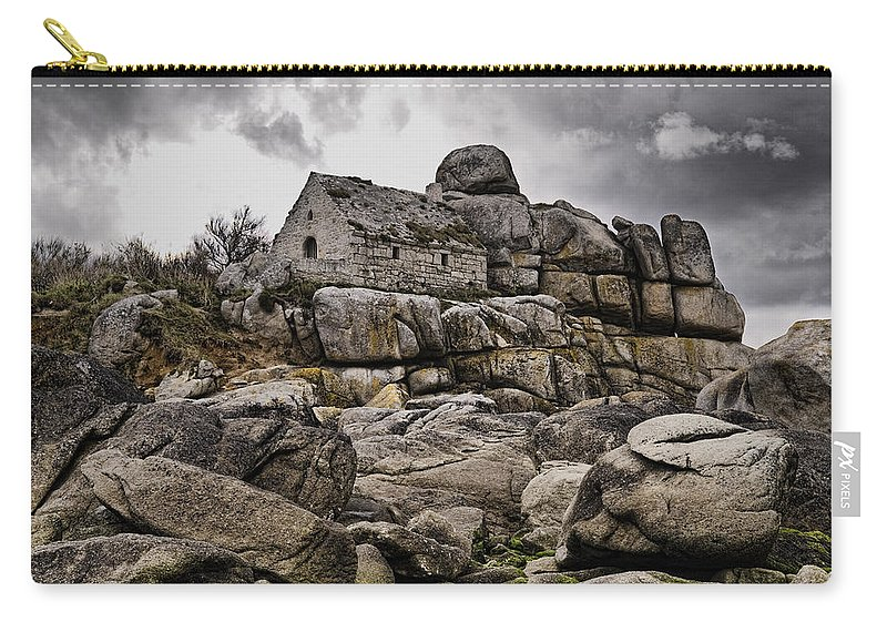 Rocky House Carry-all Pouch featuring the photograph Rocky House by Wes and Dotty Weber