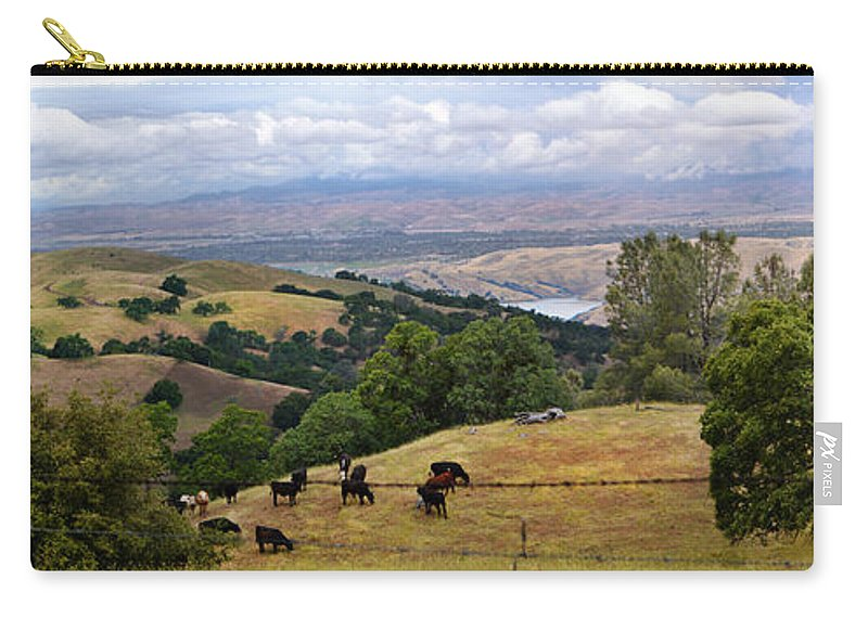 Livermore Carry-all Pouch featuring the photograph Rocky Ridge by Karen W Meyer