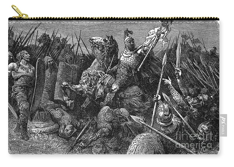 537 Carry-all Pouch featuring the photograph Rome: Belisarius, C537 by Granger