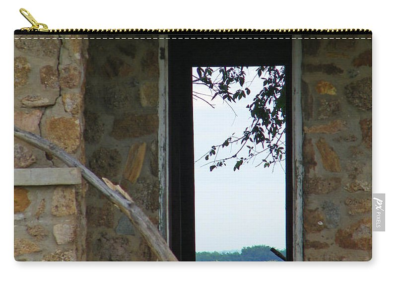 Door Carry-all Pouch featuring the photograph Room With A View by Gale Cochran-Smith
