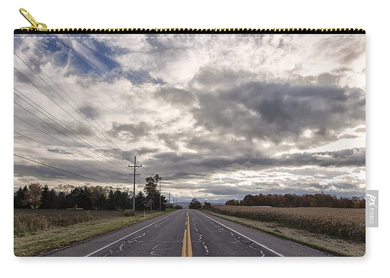 Road Carry-all Pouch featuring the photograph Route 436 by Rick Berk