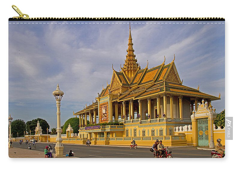 Asia Carry-all Pouch featuring the photograph Royal Palace by David Freuthal