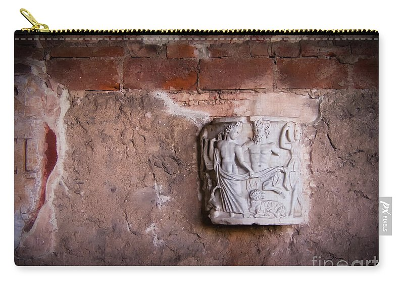 Ruins In Pisa Carry-all Pouch featuring the photograph Ruins In Pisa by Doug Sturgess