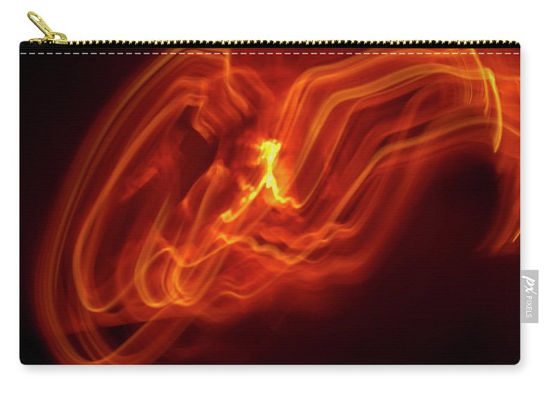 Abstract Carry-all Pouch featuring the photograph Runner by Gary Eason