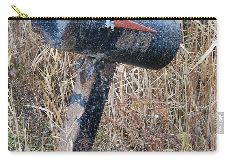Rural Carry-all Pouch featuring the photograph Rural Mailbox by Grace Grogan