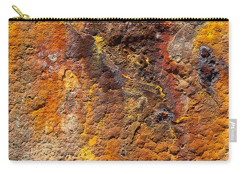 Brown Carry-all Pouch featuring the photograph Rust by Gary Eason