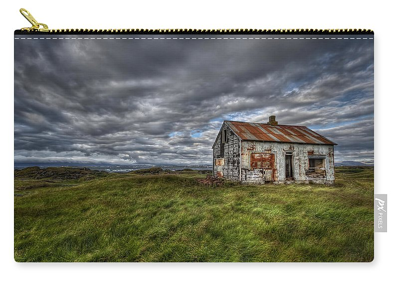 Abandoned Carry-all Pouch featuring the photograph Rust In Peace by Evelina Kremsdorf
