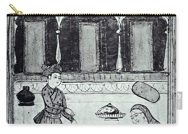 13th Century Carry-all Pouch featuring the photograph Saadi (c1184-1291) by Granger