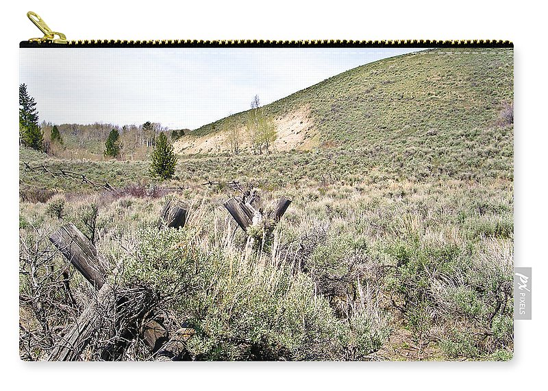 Sage Carry-all Pouch featuring the photograph Sage And Pasture by Douglas Barnett