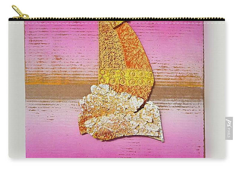 Sail Carry-all Pouch featuring the painting Sail Away by Charles Stuart