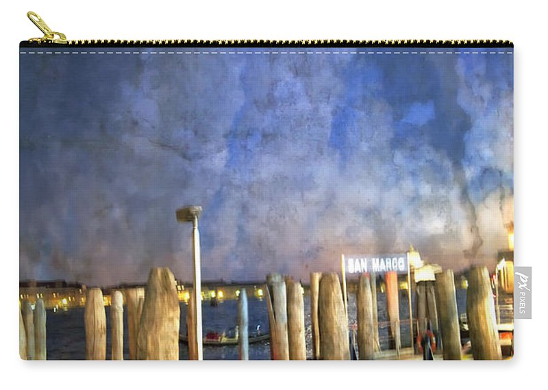 San Marco Carry-all Pouch featuring the photograph San Marco Dream by Madeline Ellis